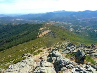 Pico Santuy; El Cerrón; recorrido rio tajo sierra de guadarrama madrid rutas y senderos